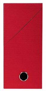 Exacompta 89425E Boite transfert toilée 12 cm Rouge de la marque Exacompta image 0 produit
