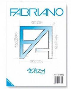 Fabriano Schizzi BL 1CO 120F Bloc Papier à dessin A4 90 g 21 x 29,7 cm Blanc de la marque Fabriano image 0 produit
