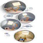 FACAIG Robot en bois lampe de table Nordic Accueil Chambre lampe de chevet Salon pliage japonais personnalité lampe de table décoratif de la marque FACAIG image 4 produit