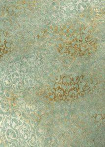 Fait à la main–3feuilles de papier cadeau X (70x 50cm)–Feuille entrelacé Gris et argent irisé–Fait main népalais en papier Lokta – de la marque Tigers On The Loose image 0 produit