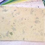 Fait à la main 60pcs. 21,6x 30,5cm Feuille de papier mûrier Motif Craft fabriqué à la main Art Soie Japon Origami Washi Wholesale Bulk vente Unryu Elle Thaïlande Products Fabrication de cartes, DE SES produits à partir de Thaïlande. de la marque Amata image 2 produit
