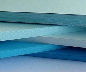feuille de couleur bleu TOP 5 image 0 produit