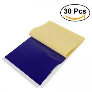 feuille papier carbone noir TOP 9 image 0 produit