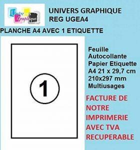 feuille papier TOP 3 image 0 produit
