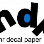 Feuilles decalques vierges fond blanc jet d encre 5 feuilles A4 de la marque Mr Decal Paper image 4 produit