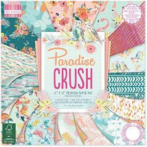 First Edition Paradise Crush Bloc de papier FSC Multicolore 30,5 x 30,5 cm de la marque First Edition image 0 produit