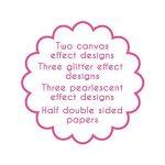 First Edition Paradise Crush Bloc de papier FSC Multicolore 30,5 x 30,5 cm de la marque First Edition image 2 produit
