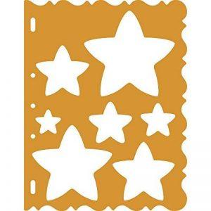 Fiskars 4856 Gabarit de Découpe Etoiles - Orange de la marque Fiskars image 0 produit