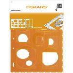 Fiskars 4975 Lot de 3 Gabarits de Découpe Ronds/Ovales/Rectangles Orange de la marque Fiskars image 2 produit