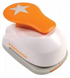 Fiskars 5441 Perforatrice à Levier Etoile Orange Taille M de la marque Fiskars image 0 produit