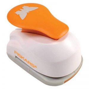 Fiskars 5471 Perforatrice à Levier Cœur Orange Taille M de la marque Fiskars image 0 produit