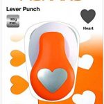 Fiskars 5471 Perforatrice à Levier Cœur Orange Taille M de la marque Fiskars image 2 produit