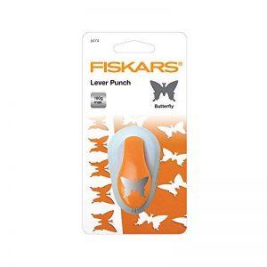 Fiskars 5474 Perforatrice à Levier Papillon Orange Taille M de la marque Fiskars image 0 produit