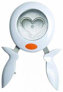 Fiskars 7308 Squeeze Punch Perforatrice Cœur Blanc Taille L de la marque Fiskars image 0 produit