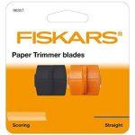 Fiskars 9685T TripleTrack Lame Coupe Droite et Rainage pour Massicots 9893/4153/5446/5454/5456/9690 Orange de la marque Fiskars image 1 produit
