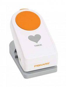 Fiskars Perforatrice de cœur épais de 5,1cm, grande, Heart de la marque Fiskars image 0 produit