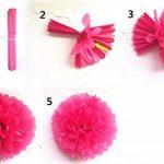 fleurs en papier pour mariage TOP 1 image 4 produit