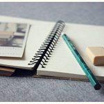 FLOKD Lot de 2 Cahiers à Spirales, Blanc, A5 (14.6 x 21 CM), 100 Pages Chacun, Notebook de Couverture Kraft de Deux Couleur, Papier de 100g de la marque FLOKD image 2 produit