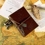 Foonii New Vintage Magique Key String Notebook Journal Blank Agenda Jotter Cahier Corde Vintage Intimate Diary (Café) de la marque Foonii image 4 produit