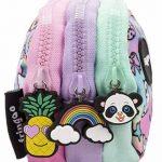 Fringoo® 3Compartiment Trousse pour enfant école papeterie support Funny Cute Large Holo Doodle - 3 Compartments de la marque Fringoo image 2 produit