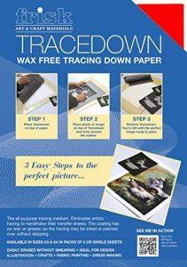 Frisk Tracedown Lot de 5 blocs de papier calque Rouge Format A3 de la marque Frisk image 0 produit