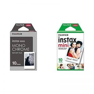 Fujifilm 70100137913 Instax Mini Développement instantané Monochrome & Fujifilm - Films Mini Instax - 86 x 54 mm - Monopack 10 Films de la marque Fujifilm image 0 produit