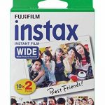 Fujifilm Film - 16385995 - Instax Wide 99 x 62 mm - Compatible Appareil Instax Wide uniquement - Bipack 10 x 2 films de la marque Fujifilm image 1 produit