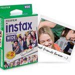 Fujifilm Film - 16385995 - Instax Wide 99 x 62 mm - Compatible Appareil Instax Wide uniquement - Bipack 10 x 2 films de la marque Fujifilm image 2 produit