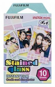 Fujifilm Film Instax Mini Monopack Stained Glass (10v) de la marque Fujifilm image 0 produit