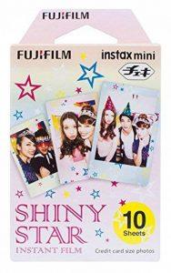 Fujifilm Instax Mini Monopack de 10 Films pour développement instantané Shiny Star de la marque Fujifilm image 0 produit