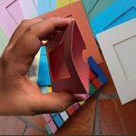 [Fujifilm Instax photo Mini Frame Acrylique]--TaiYaun Cadre photoélectrique de réfrigérateur acrylique transparent, cadre d'aimant de photo de double face (10PCS papier cadre de photo) de la marque TaiYaun image 2 produit