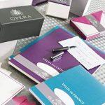 G.Lalo Papier à lettres en bloc Papier Vélin de France A5 50 feuilles 100 g 21 x 14,80 x 0,8 Blanc de la marque G. Lalo image 2 produit
