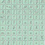 gabarit lettre pochoir TOP 1 image 1 produit