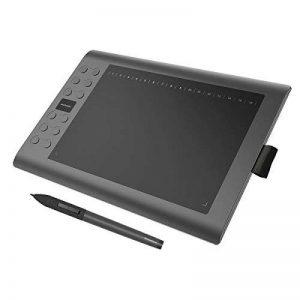 GAOMON M106K – Professionnel 10 x 6 Pouces Dessin Stylo Numérique Tablette Graphique avec San File Stylet (M106K) de la marque GAOMON image 0 produit