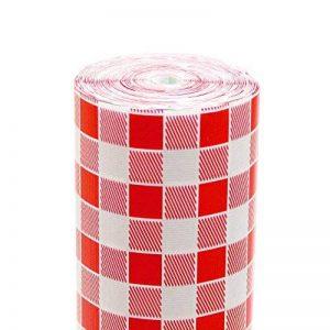 Garcia de Pou Nappe Aneto Ronde Vichy Rouge 48 G/M2 1,20X100 M Blanc Cellulose - 1 unités de la marque Garcia de Pou image 0 produit