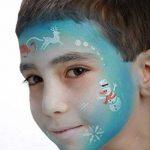 Générique Pochoir de Maquillage Réutilisable Princesse des Neiges Grim Tout de la marque Générique image 2 produit