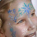 Générique Pochoir de Maquillage Réutilisable Princesse des Neiges Grim Tout de la marque Générique image 3 produit