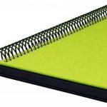 Goldbuch album photos à spirale, couverture personnalisable en lin vert vif, 30x34 cm, 40 pages, 25976 de la marque Goldbuch image 2 produit