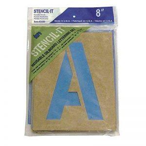 grand pochoir alphabet TOP 1 image 0 produit
