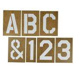 grand pochoir alphabet TOP 1 image 1 produit
