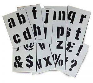 grand pochoir alphabet TOP 11 image 0 produit
