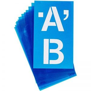 grand pochoir alphabet TOP 2 image 0 produit