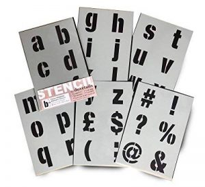 grand pochoir alphabet TOP 7 image 0 produit