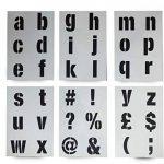 grand pochoir alphabet TOP 7 image 1 produit