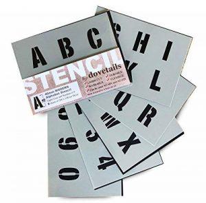 grand pochoir alphabet TOP 9 image 0 produit
