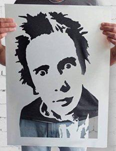 grand pochoir mural TOP 13 image 0 produit