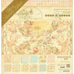 Graphic 45 Deluxe Edition Collector Papier 30,5cm x 30,5cm, 2pour bébé, Mariée de la marque Graphic 45 image 0 produit