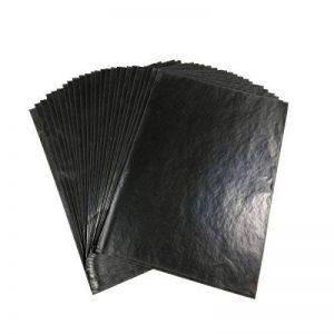 Graphite de transfert de papier calque – 25 feuilles –22,9 x 33 cm – Noir de haute qualité papier calque pour bois, papier, Art de Toile et autres surfaces de la marque Dangshan image 0 produit