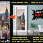 GREAT ART Affiche Banksy, décoration de peinture murale d'artiste de Graffiti Life is Beautiful, style de rue Pop, style d'Artiste de rue Stencil | mur deco Poster mural Image by (140 x 100 cm) de la marque GREAT ART image 4 produit
