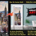 GREAT ART Affiche Banksy, décoration de peinture murale d'artiste de Graffiti Life is Beautiful, style de rue Pop, style d'Artiste de rue Stencil | mur deco Poster mural Image by (140 x 100 cm) de la marque GREAT ART image 4 produit